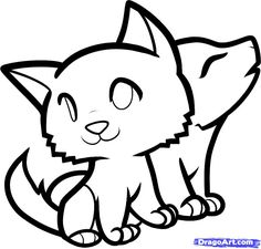 8 Best Cute Wolf Drawings Images Inspiring Quotes Thoughts Cool