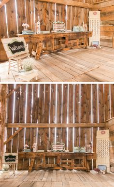 Cool idea for a rustic Hill Country Wedding #FbgTX #HillCountry