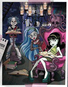 Hoodude Voodoo, Ghoulia Yelps and Scarah Screams