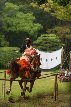 At the budo, or martial arts, tournament and exhibition at Tokyo's Meiji Shrine a few weeks ago I saw this wonderful performance of Yabusame or mounted horse archery. I have written previousl…
