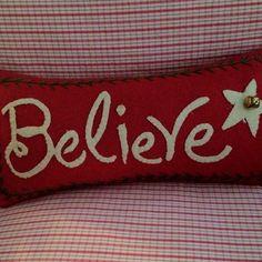 Christmas pillow Christmas Bedroom, Christmas Home, Christmas Holidays, Christmas Decorations, Christmas Jingles, Christmas Cushions, Christmas Pillow, Christmas Applique, Handmade Pillows