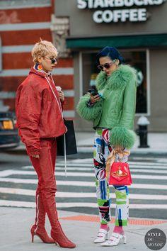 New York FW 2018 Street Style: Sita Abellan und ihre Freunde Fashion Week, New York Fashion, Fashion Looks, Fashion Outfits, Womens Fashion, Style Fashion, Street Style Chic, Street Style Looks, Fashion Fotografie