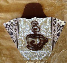 Atelier de Arte Julainne: Artesanato com filtro de café usado