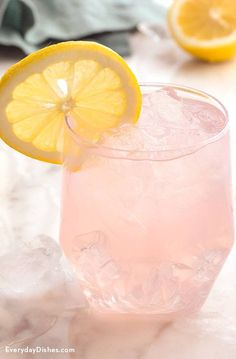 Skinny Coconut Water Cocktail Recipe