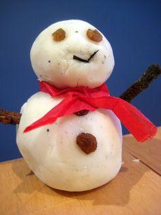 snow playdough recipe