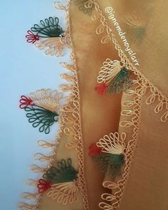 Needle lace Source by daldabanoglu Thread Art, Needle And Thread, Knitted Poncho, Knitted Shawls, Baby Knitting Patterns, Knit Shoes, Needle Lace, Lace Making, Knitting Socks