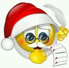 Santa smile