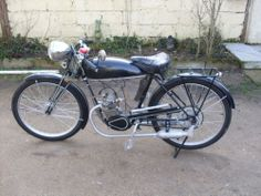 1932 Griffon 100cc - French Motorcycle in perfect running order