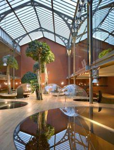 14 coolste kantoren in de wereld: Pons http://www.kantoorruimtevinden.nl/blog/14-coolste-kantoren-de-wereld/
