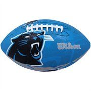 Wilson Carolina Panthers Junior Super Grip Rubber Football. Keep that autograph football clean and play with this one in the parking lot before the game! #UltimateTailgate #Fanatics