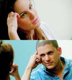 -misa is my otp❥ -prison break is my life∞ -sarah is my queen♛ -wentworth is my king♚ -she had a thing for scofield Prison Break Quotes, Prison Break 3, Michael Scofield, Sara Tancredi, Wentworth Miller Prison Break, Charlie Chaplin, Michael And Sara, Sarah Wayne Callies, Dominic Purcell