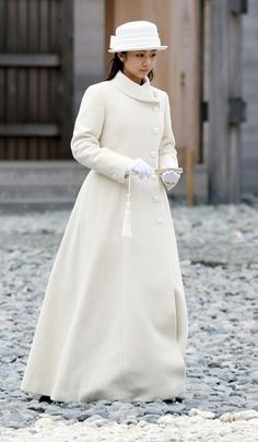 秋篠宮佳子内親王(あきしののみやかこないしんのう)殿下  Princess Kako. Her Imperial Highness 伊勢神宮御参拝、成年を御報告