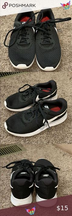Nike Tennis Shoes Black and white nike tennis shoes. Nike Shoes Athletic Shoes<br> White Nike Tennis Shoes, Nike Shoes, Black And White Nikes, Athletic Shoes, Nike Women, Vans, Sneakers, Fashion Trends, Things To Sell