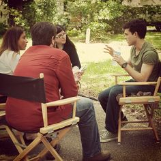 Alden Ehrenreich on set of #BeautifulCreatures
