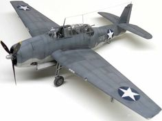 Accurate Miniatures Avenger by David Rapasi Plastic Model Kits, Plastic Models, Grumman Aircraft, Model Hobbies, Ww2 Planes, United States Navy, Model Airplanes, Scale Models, Wwii