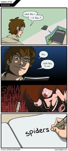Hahaha Death Note - I can't get over his face!! I would SO DO THIS.