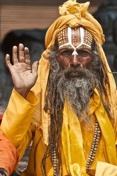 .A mendicant...(Sadhu)