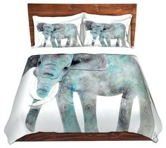 Dianoche Microfiber Duvet Covers Elephant Contemporary And Duvetelephant Nz  Print King Size Cover