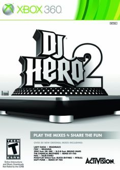 Dj Hero 2 Software - Xbox 360 (Stand-Alone Software) by Activision Inc.-bought on Sioux Falls online rummage, got the turntable as well on Xbox 360 Video Games, Latest Video Games, Microsoft, Hip Hop Hits, Activision Blizzard, Ludo, New Dj, Busta Rhymes, Teen Fun