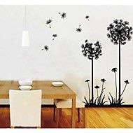 ZOOYOO®++hot+sale+DIY+Dandelions+Flowers+Lemon+Removable+Wall+Decor+Wall+Stickers+Vinyl+Stickers+wall+sticker+–+AUD+$+20.01