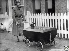 Gas Resistant Pram. England, 1938.