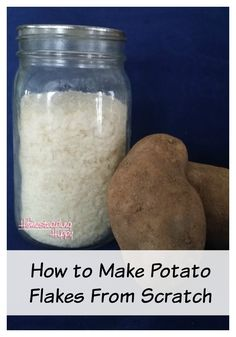 Learn how easy it is to make your own dehydrated potato flakes!  Just a few simple steps and you are on your way.  Perfect for bug out bags and other 72 hour kits, they are much easier to carry and will cook with only water.