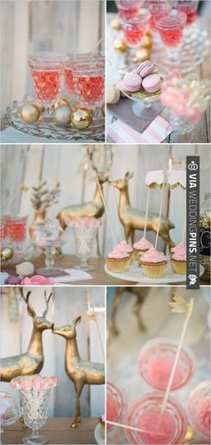 gold and pink wedding cocktail ideas | CHECK OUT MORE IDEAS AT WEDDINGPINS.NET | #weddingfood #weddingdrinks
