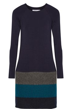 BAILEY 44 Lorax stretch-jersey and wool-blend mini dress €131.09 http://www.theoutnet.com/products/701469