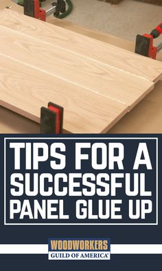 If you need wide, solid wood panels for your next project, you're going to have to glue them up. Doing a good panel glue up isn't hard, but there are specific steps you need to follow, and things you need to take care of, to make sure the panel glue up turns out well. A well composed panel can easily end up looking like one large piece of wood, with no seams at all.