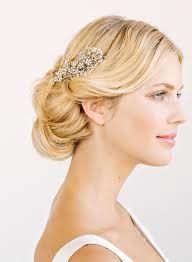 Elegant bridal hair up