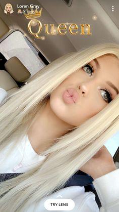 Grey Fashion, Look Fashion, Loren Gray Snapchat, Gray Instagram, Baddie Hairstyles, Sexy Teens, Ulzzang Girl, Cute Girls, Beautiful Women
