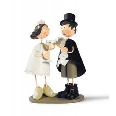 Metal Bridal Couple Toast by Handmade and hand-painted figures, http://www.amazon.co.uk/dp/B00DG1I1O2/ref=cm_sw_r_pi_dp_GDJ7rb0376CNG