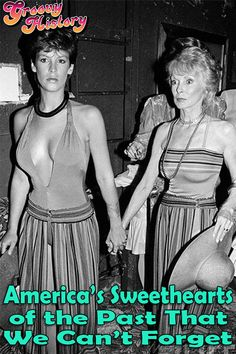 Jamie Lee Curtis out with her Psycho mother, Janet Leigh, at Studio 54 : OldSchoolCool Tony Curtis, Jamie Lee Curtis Mom, Janet Leigh, Vintage Hollywood, Classic Hollywood, Hollywood Stars, Actrices Hollywood, Studio 54, Gene Kelly