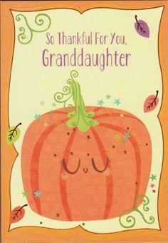 Thanksgiving Greeting Cards, Thankful, Ebay