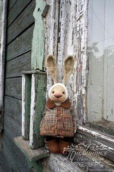 Купить New!!! ЗайУшка тедди медведи - бежевый, СССР, винтаж, провинция, мишка, коллекция