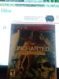 PS3~~Unchartered:Drakes Fortune~~PS3