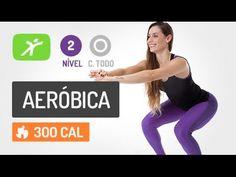 Aula de Ginástica Aeróbica #10 - Pernas e Barriga Definidos! - YouTube
