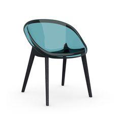 Calligaris Bloom Slant Leg Chair & Reviews   Wayfair
