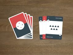 Playing Cards - Material Design designed by Austin Condiff. the global community for designers and creative professionals. Mobile Application Design, Mobile Design, Color Puzzle, Game Ui Design, Design Research, Ui Inspiration, Material Design, Brand Packaging, Design Development