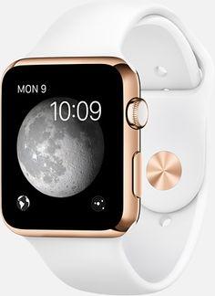Apple Watch Edition. Elegant is now smart.