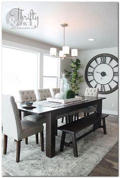 Top 9 Dining Room Centerpiece Ideas | formal dining room | Pinterest ...