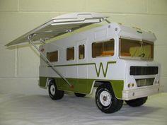 VINTAGE PRESSED STEEL TONKA WINNEBAGO INDIAN CAMPER RV | eBay