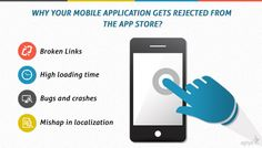 Why Your #Mobile #Application Gets Rejected from #App Store?
