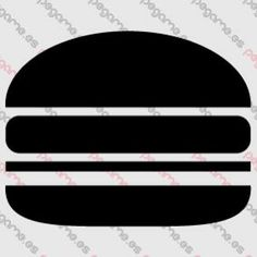 Pegame.es Online Decals Shop  #fast #food #hamburger #vinyl #sticker #pegatina #vinilo #stencil #decal