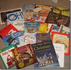25 Christmas books...read your children a different book each night.  Wrap them each year and put them in a basket by the tree and let the kids pick out a book to reach each night...  Would love to do this when we have kids...