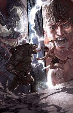 Spider-Man #1 - Venom King Pin vs. Peter Parker by In-Hyuk Lee *