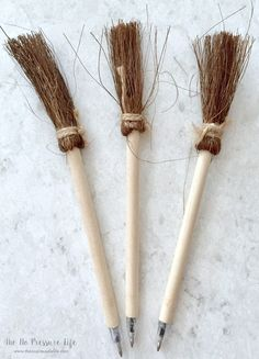Harry Potter Party Favors - Broom Pens