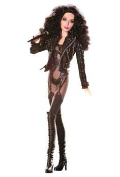 Cher 1980 Barbie is provocative and skimpy. - American fashion guru Bob Mackie began to design Barbie dolls for toymaker Mattel. A peek at that collection demonstrates Mackie's incomparable creative imagination: Celebrity Barbie Dolls, Barbie 80s, Barbie World, Barbie And Ken, Barbie Costume, Barbies Dolls, Doll Toys, Bob Mackie, Barbie Style