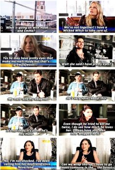 News Flash About Hook and Emma! Their responses are hilarious!!! LOL!!! CHARMING AND SNOW haha