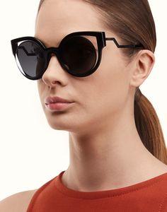 FENDI | PARADEYES gafas de sol negras brillantes